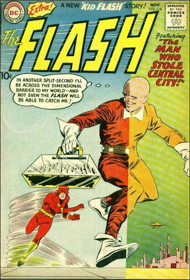 Flash (1959) 116-A by DC