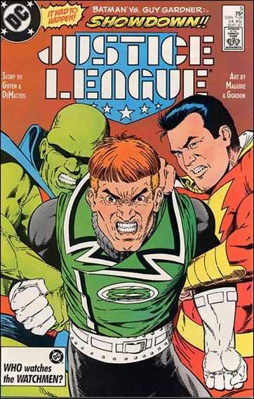 Justice League (1987) 5-A by DC