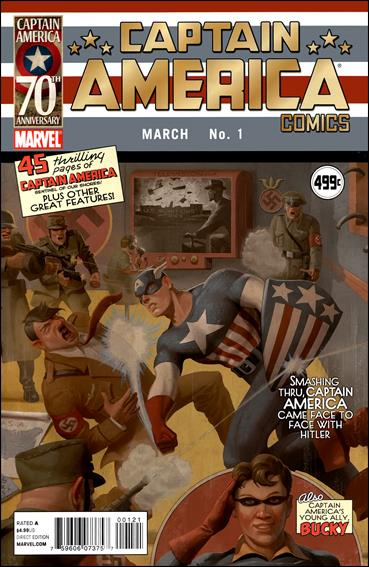 Captain America Comics (2011) 1-B by Marvel