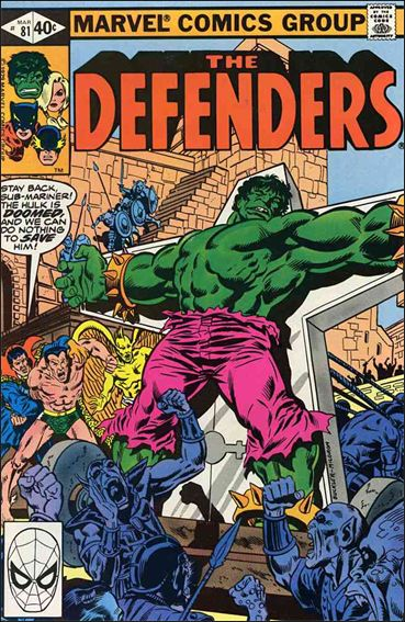 Defenders (1972) 81-A by Marvel