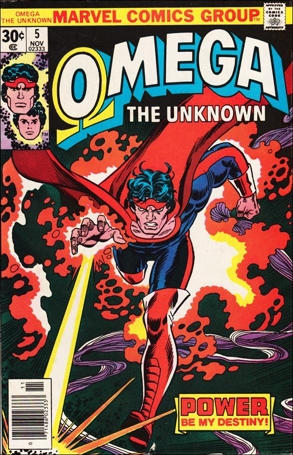 Omega: The Unknown (1976) 5-A by Marvel