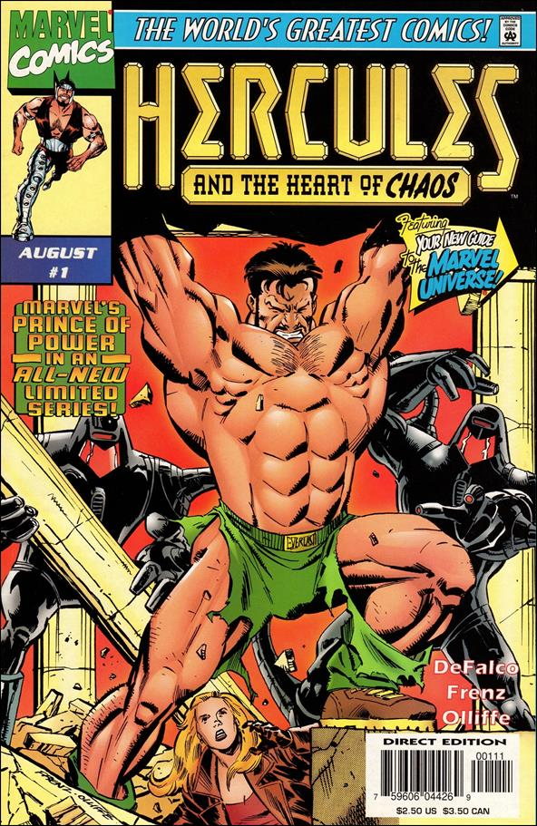 Hercules: Heart of Chaos 1-A by Marvel