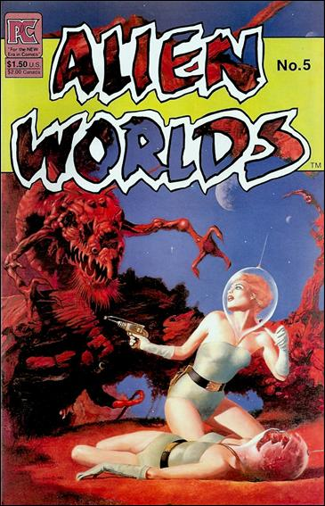 Alien Worlds (1982) 5-A by Pacific Comics