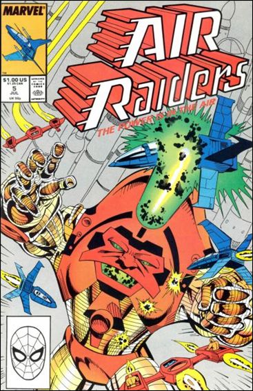 Air Raiders 5-A by Marvel