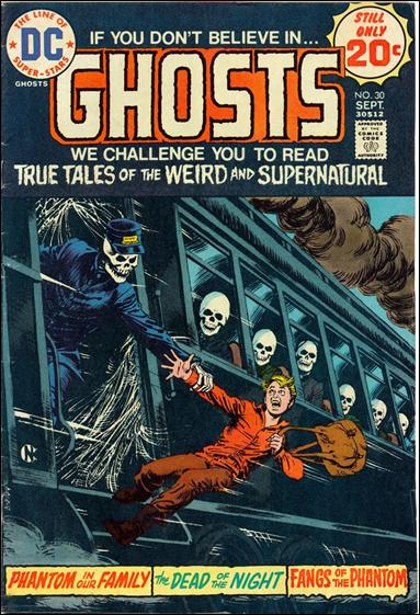 Ghosts (1971) 30-A by DC