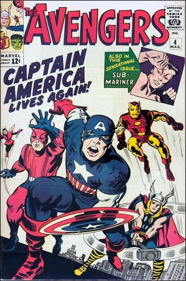 Avengers (1963) 4-A by Marvel