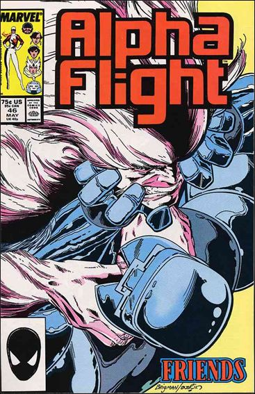 Alpha Flight (1983) 46-A by Marvel