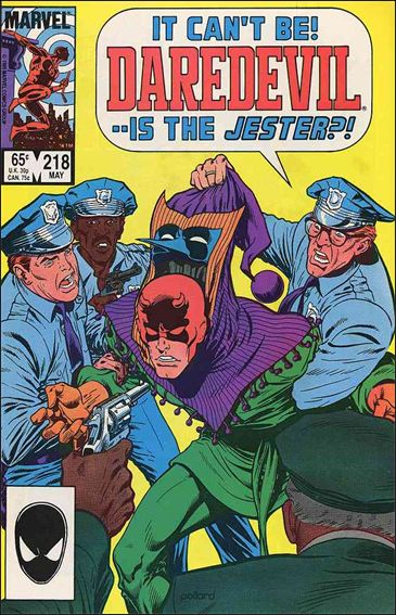 Daredevil (1964) 218-A by Marvel