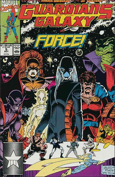 Guardians of the Galaxy (1990) 5-A by Marvel