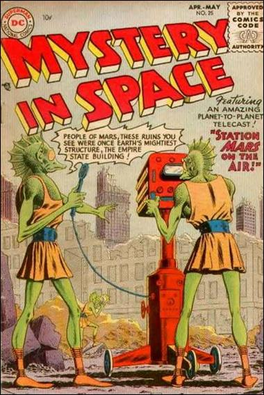 Mystery in Space (1951) 25-A by DC