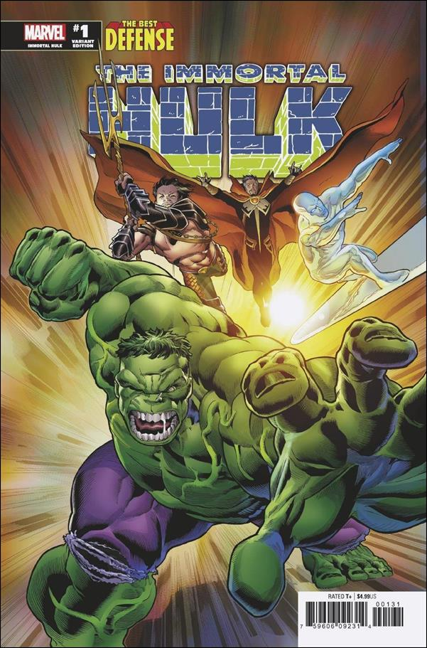 Immortal Hulk: The Best Defense 1-C by Marvel