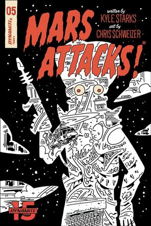Mars Attacks (2018) 5-I