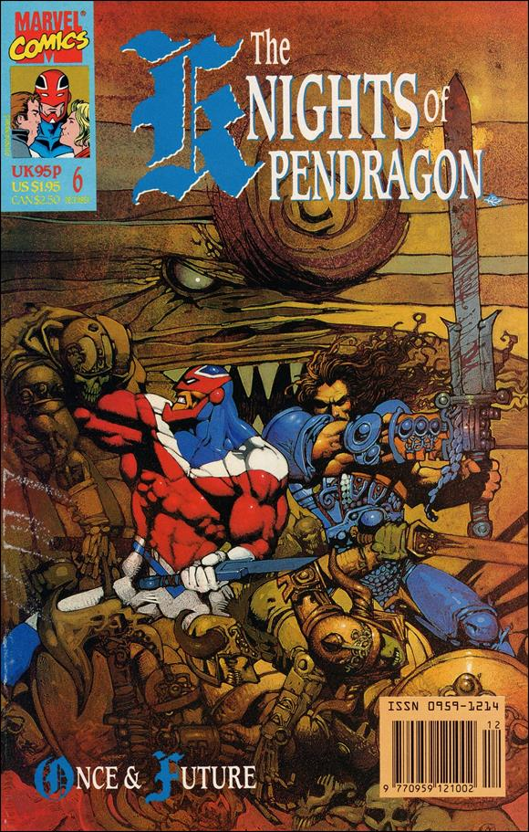 Knights of Pendragon (UK) (1990) 6-A by Marvel UK