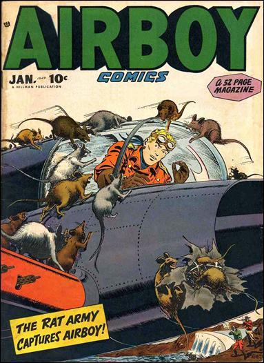 Airboy Comics (1948) 12-A by Hillman