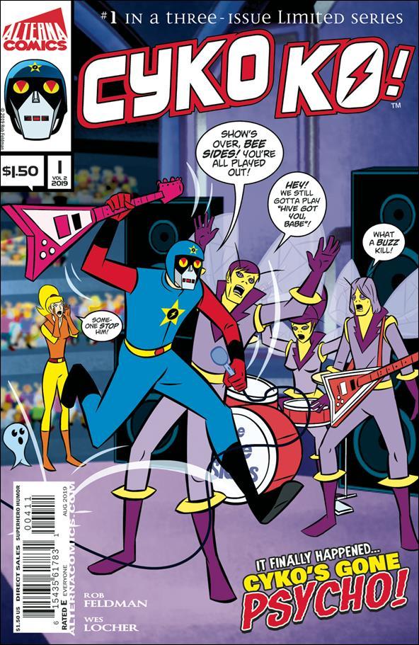Cyko KO! (2019) 1-A by Alterna Comics