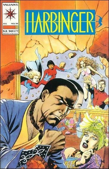 Harbinger (1992) 19-A by Valiant