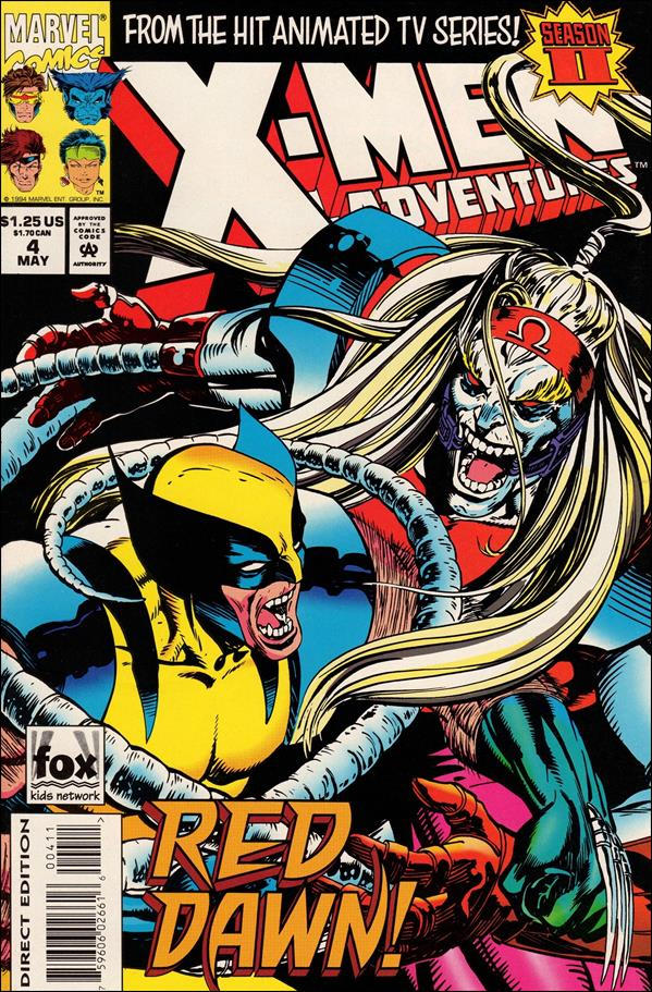 X-Men Adventures (1994) 4-A by Marvel