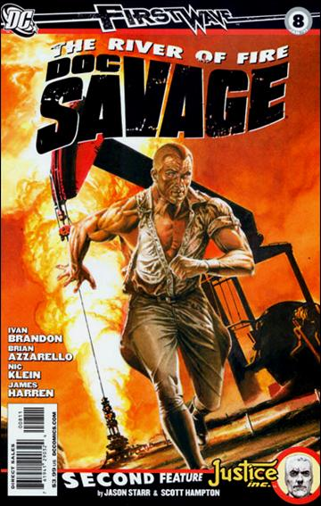 Doc Savage (2010) 8-A by DC