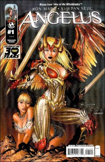 Angelus 1-B by Top Cow