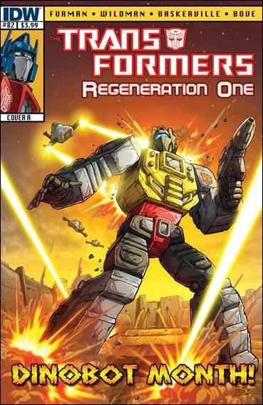 Transformers: Regeneration One 82-A by IDW