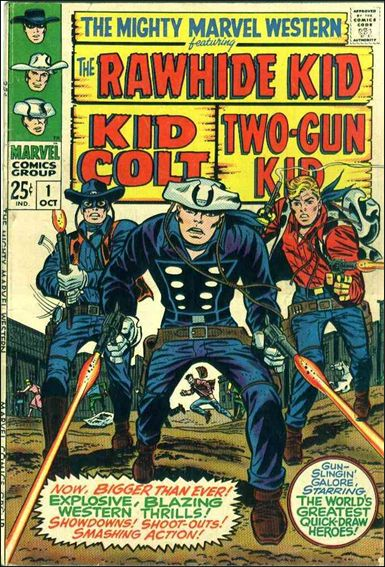 Mighty Marvel Western 1-A by Marvel