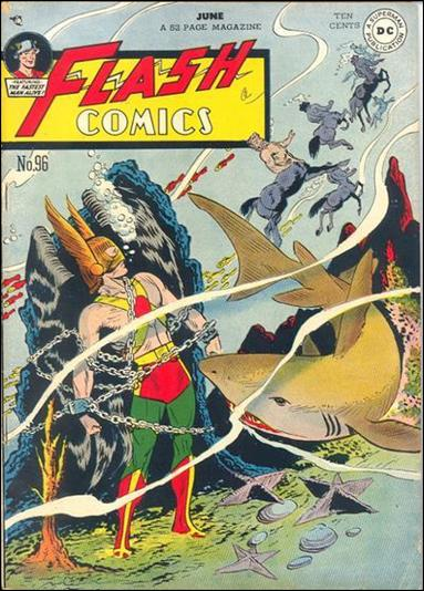 Flash Comics (1939) 96-A by DC