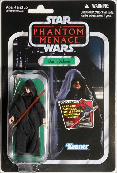"Star Wars: Vintage Collection 3 3/4"" Figures Darth Sidious by Hasbro"