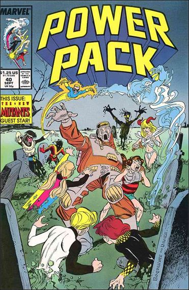 Power Pack (1984) 40-A by Marvel