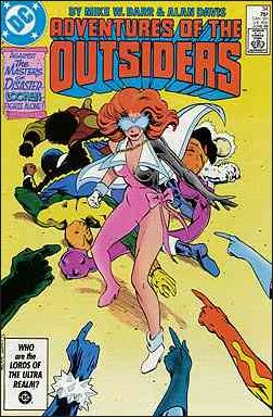Adventures of the Outsiders 34-A by DC
