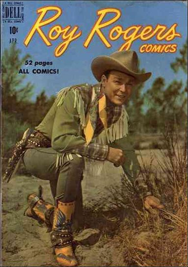 Roy Rogers Comics 28-A by Dell
