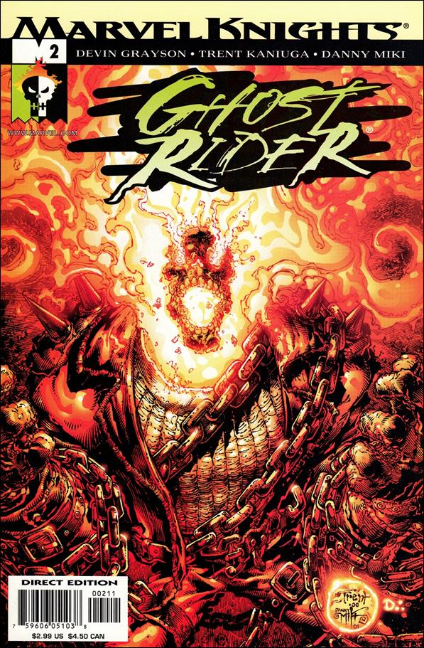 Ghost Rider (2001) 2-A by Marvel