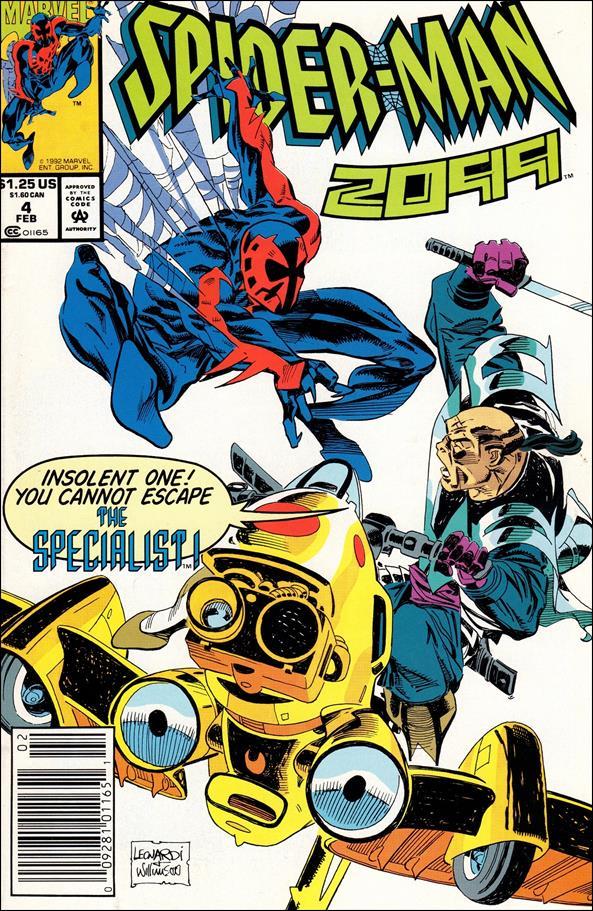Spider-Man 2099 (1992) 4-A by Marvel