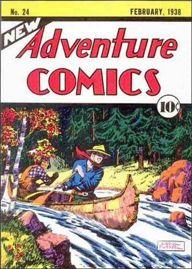 New Adventure Comics 24-A by DC
