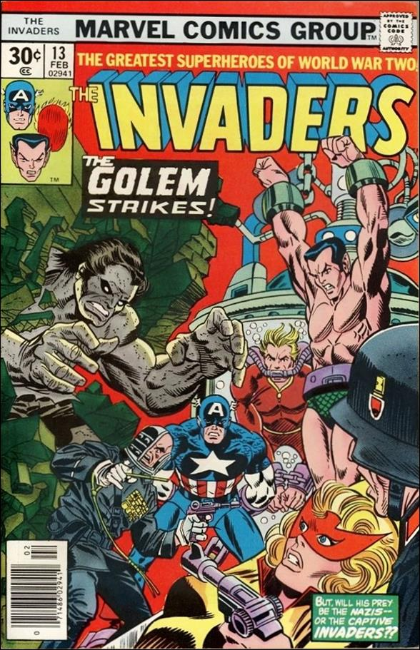 Invaders (1975) 13-A by Marvel