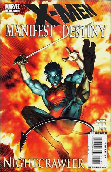 X-Men: Manifest Destiny - Nightcrawler 1-A by Marvel