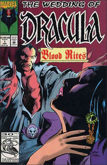 Wedding of Dracula 1-A by Marvel