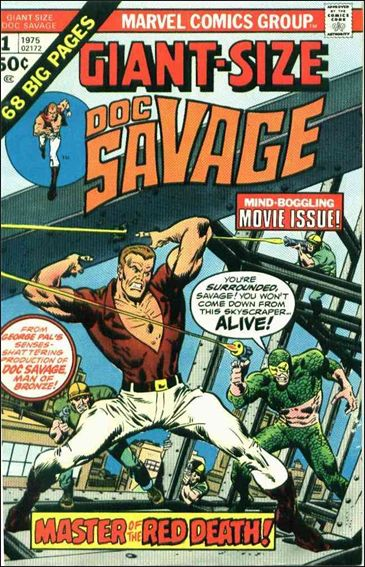 Giant-Size Doc Savage 1-A by Marvel