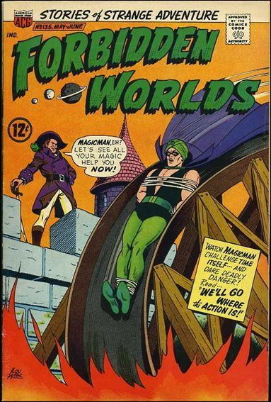 Forbidden Worlds (1951) 135-A by American Comics Group (ACG)