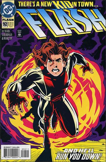 Flash (1987) 92-A by DC