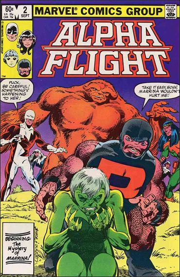 Alpha Flight (1983) 2-A by Marvel