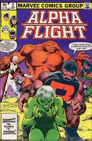 Alpha Flight (1983) 2-A