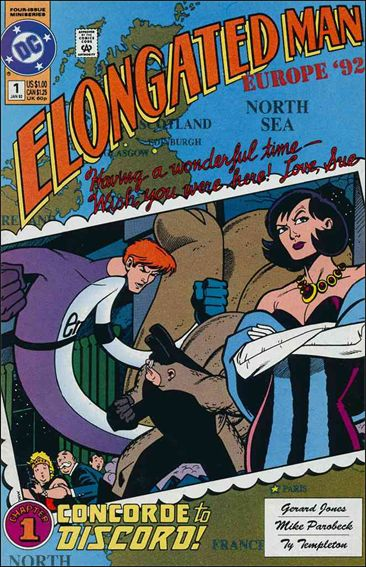 Elongated Man 1-A by DC