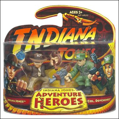 Indiana Jones: Adventure Heroes Indiana Jones and Colonel Dovchenko by Hasbro