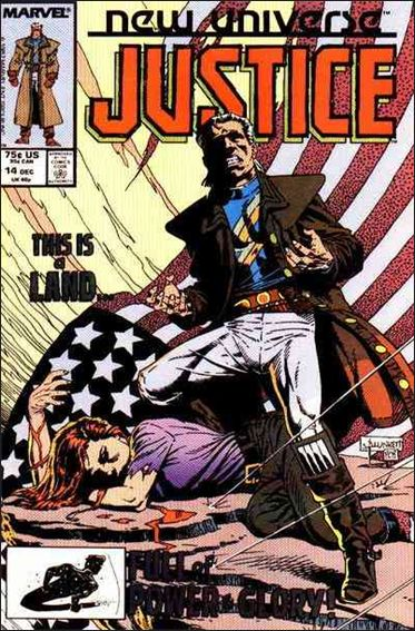 Justice (1986) 14-A by Marvel