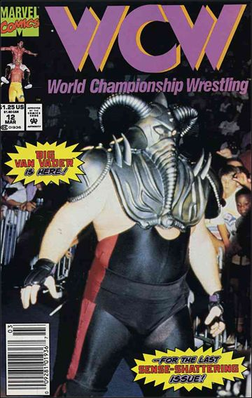 WCW: World Championship Wrestling 12-A by Marvel