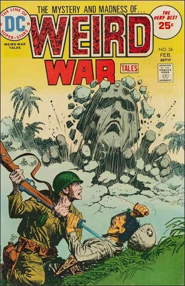 Weird War Tales (1971) 34-A by DC