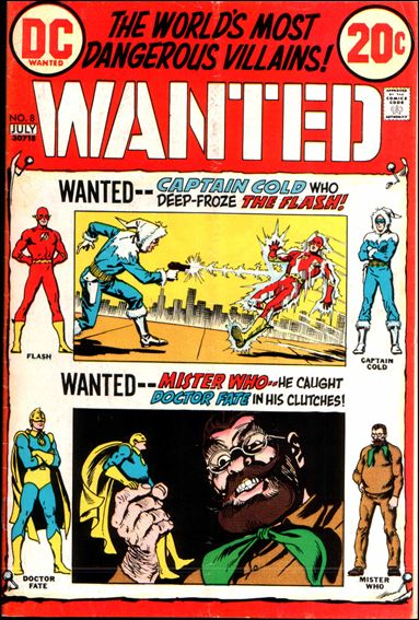 Wanted, the World's Most Dangerous Villains 8-A by DC