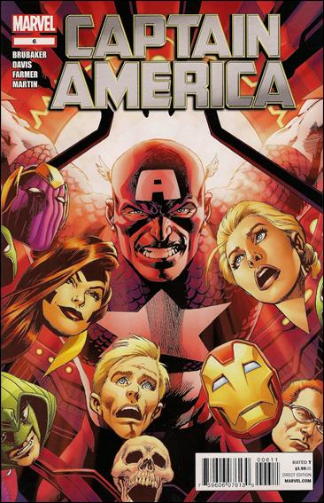 Captain America (2011) 6-A by Marvel