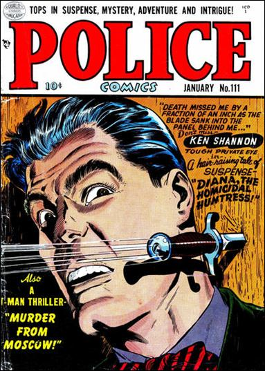 Police Comics 111-A by Comic Magazines
