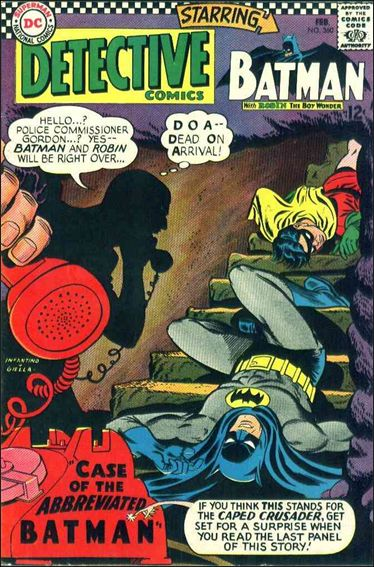Detective Comics (1937) 360-A by DC